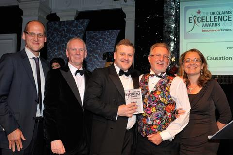 UK Claims Excellence Awards 2013 Motor Claims Initiative of the Year